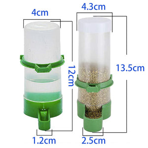 Automatic Drinking Fountain Cage Bottle