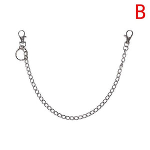 Long Stainless Steal Metal Chain With Ring Clip for Parrot Toy Parts