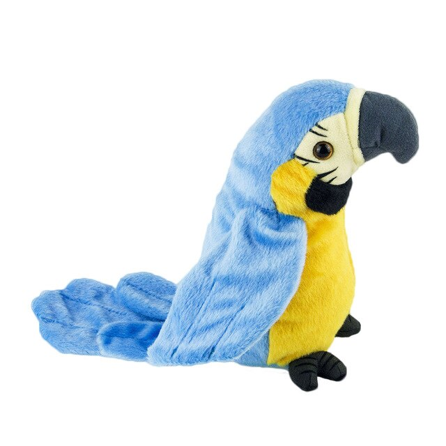 Parrot Repeater Talking Parrot Toy For Education/Solving Screaming Bird