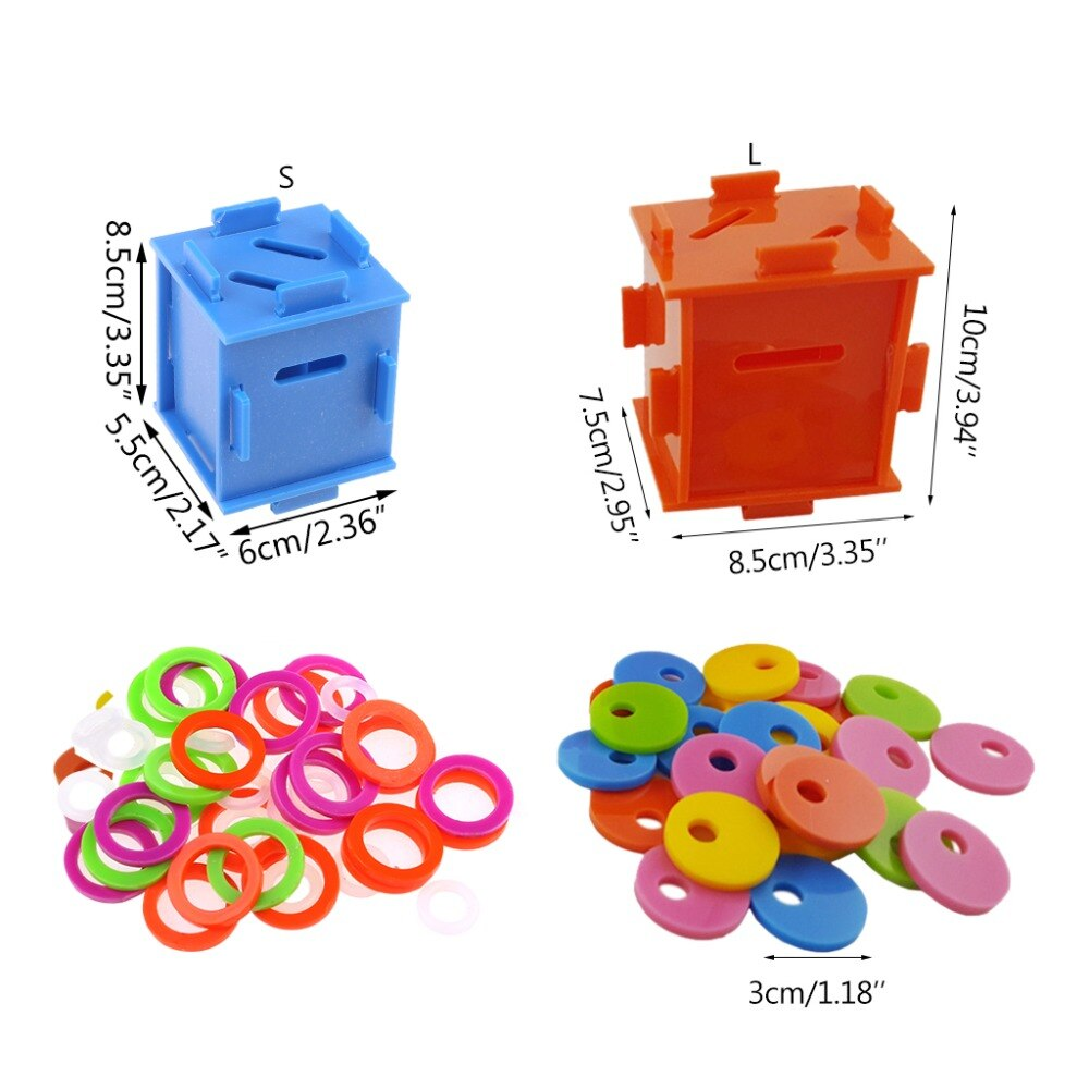 Separation Coin Box Puzzle