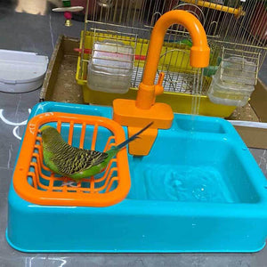 Automatic Faucet Shower /Water Dispenser Bird Bath Fun