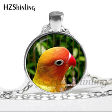 Load image into Gallery viewer, Dome Glass Parrot Necklace
