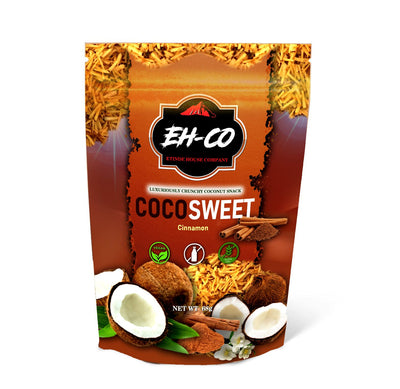 COCOSWEET | CINNAMON | CANDIED COCONUT SNACK | 68G