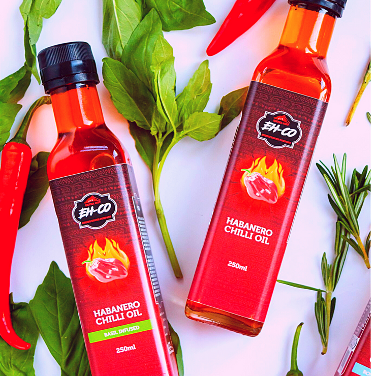 3-Pack Premium Habanero Chilli Oil | 250ML | FREE SHIPPING