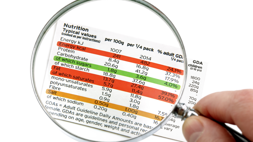 10 tips to know your food labels