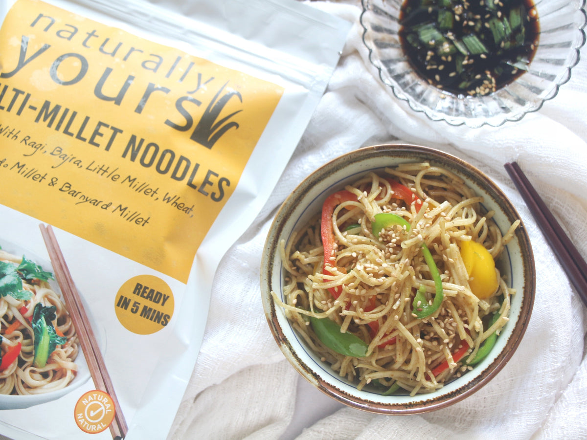 Healthy Noodles Ready in 5 Minutes