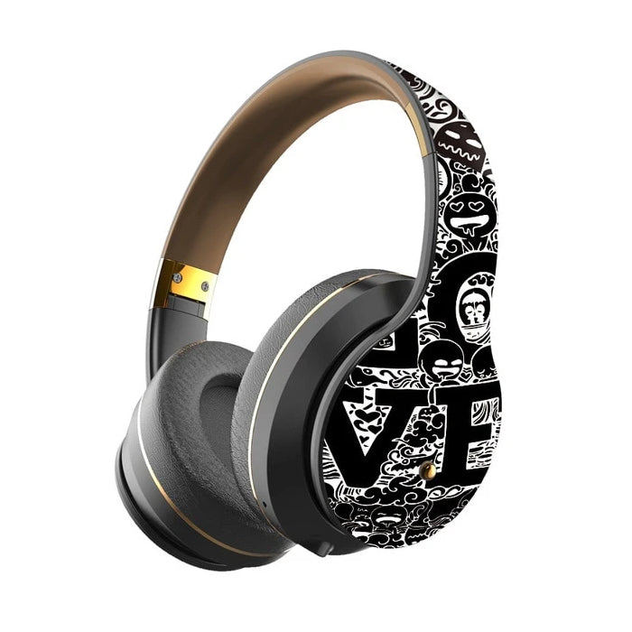 Heavy Bass Wireless Foldable  Noise Cancelling Headphone
