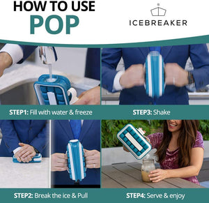 Portable Pop Ice Cube Tray