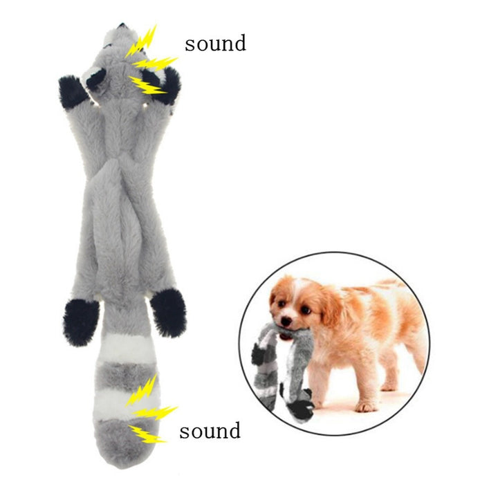 Squeak Animal Plush Pet Chew Toy