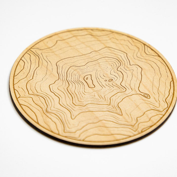 maple topography coaster