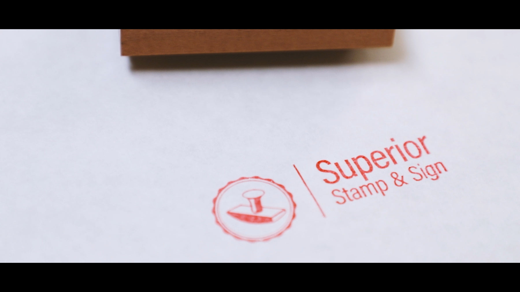 how to make your own custom rubber stamp video