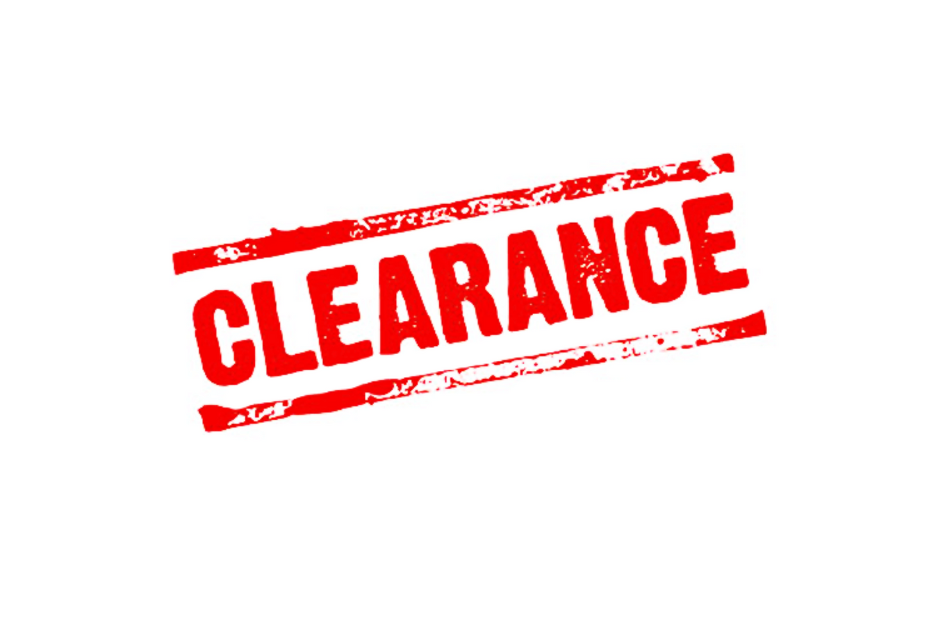 clearance and on sale products