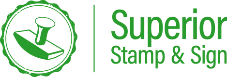 Superior Stamp and Sign Earth Day Logo