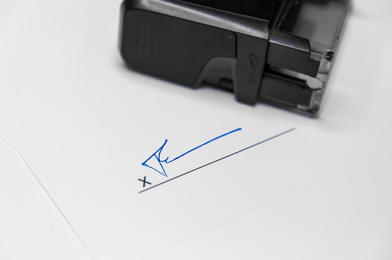 custom self inking signature stamps