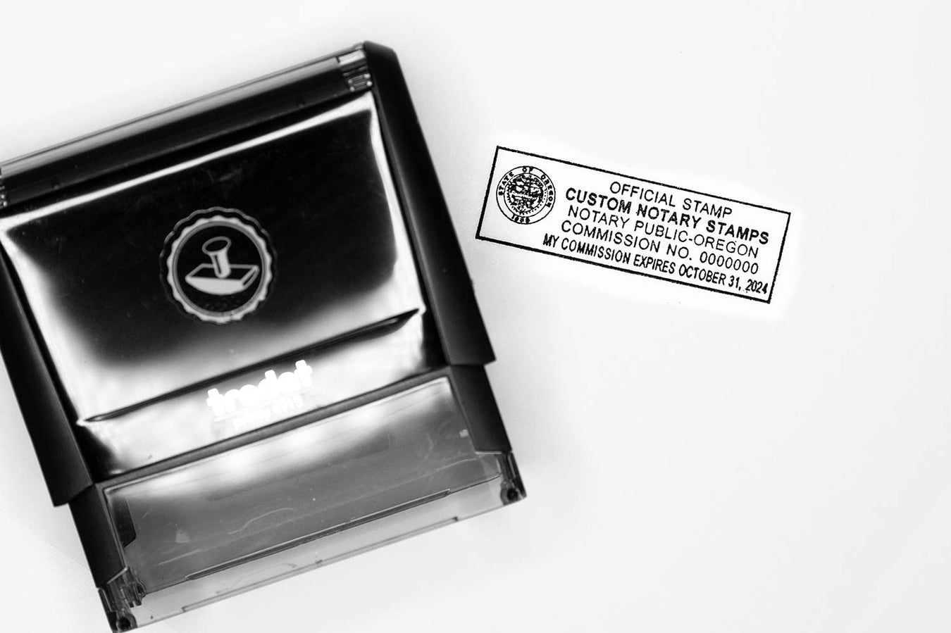 custom self inking notary stamps