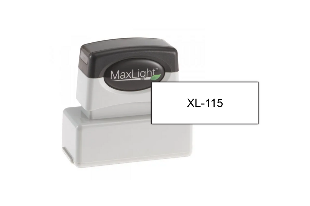 MaxLight XL-115 With Size Example