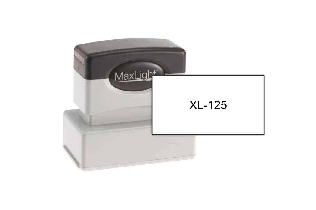 MaxLight XL-125 With Size Example
