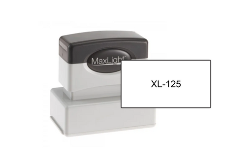 "MaxLight XL-125 (1-1/8"" x 2-1/8"") by Superior Stamp and Sign."
