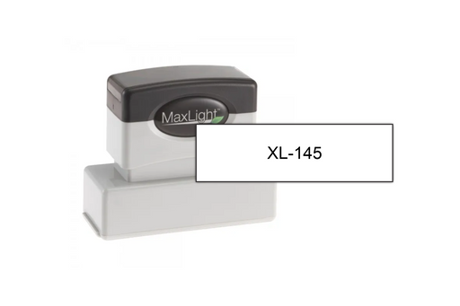 "MaxLight XL-145 (3/4"" x 2-9/16"") by Superior Stamp and Sign."