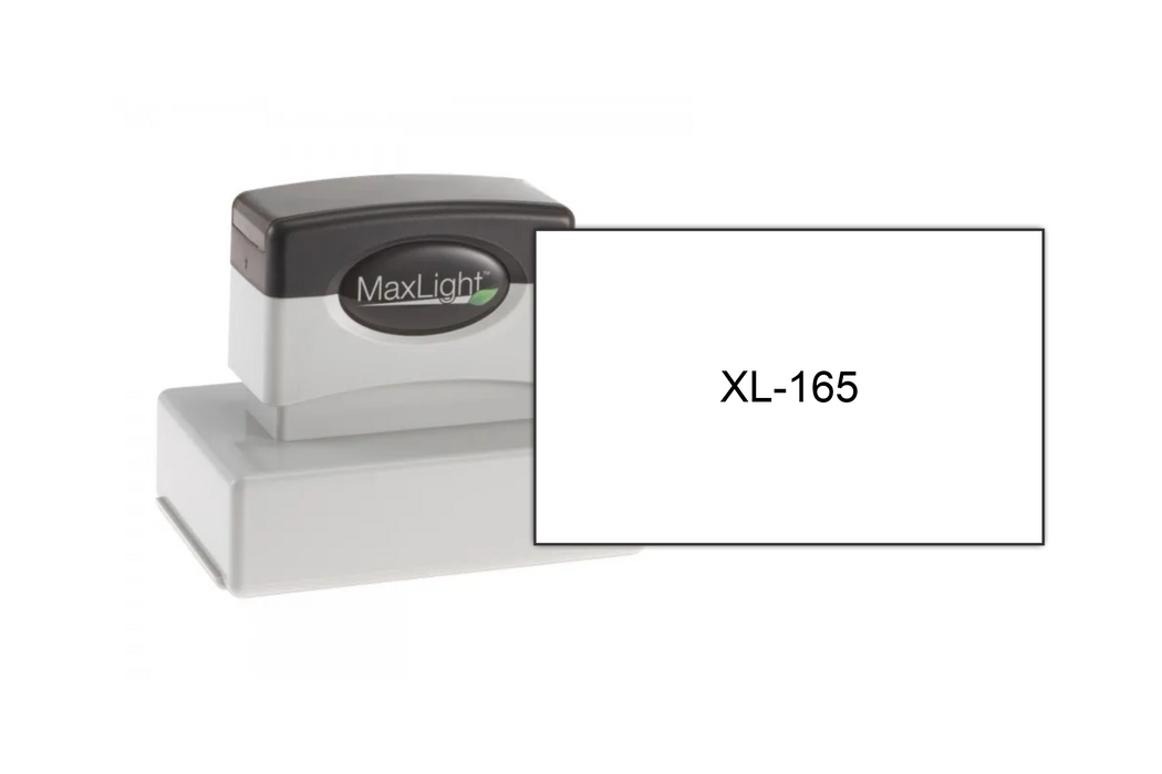 MaxLight XL-165 With Size Example