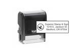 4913 Address Stamp + Logo