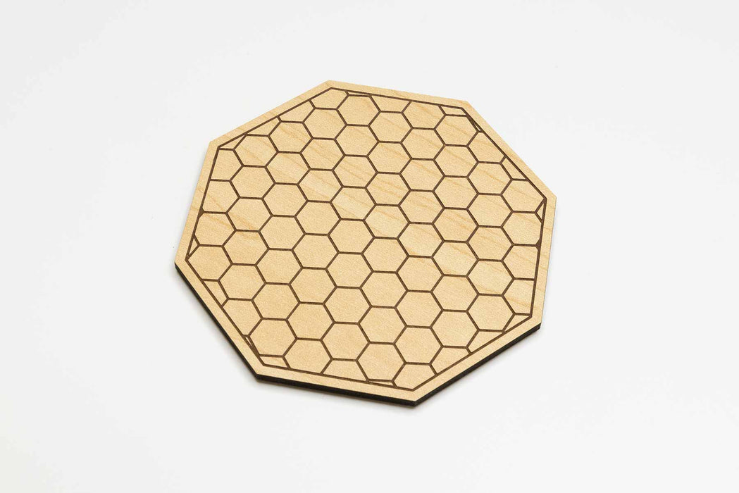 Honeycomb Coasters (4 Set)