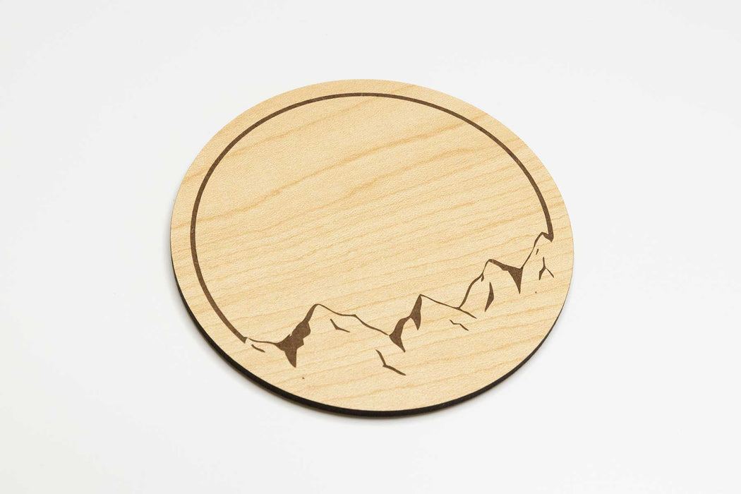Mountain Views Coasters (4 Set)