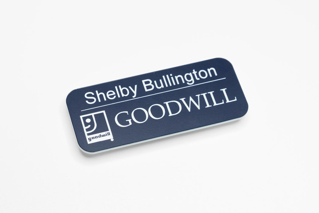 Goodwill Name Badge