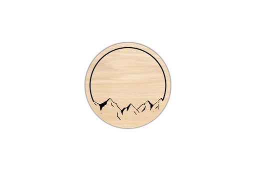 Mountain Views Coasters (4 Set) by Superior Stamp and Sign.