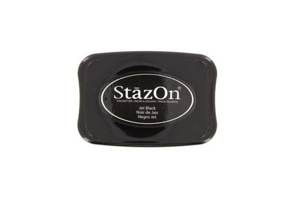 StazOn Solvent Ink Stamp Pad