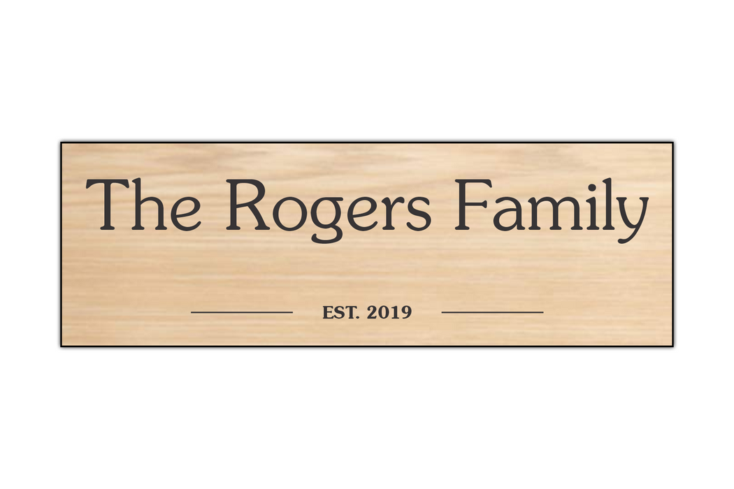 The Family Sign