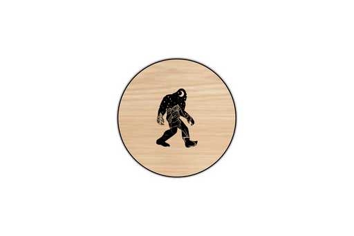 dark landscape bigfoot coaster