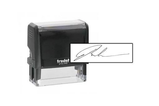 Signature Stamp by Superior Stamp and Sign.