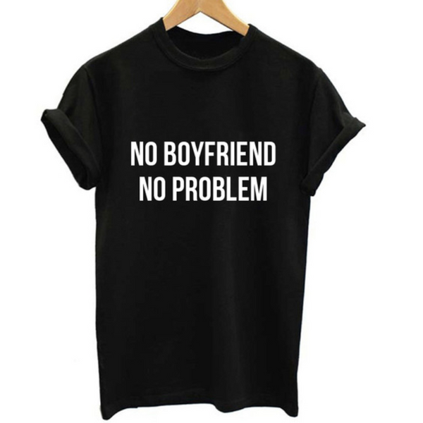 Camiseta No Boyfriend