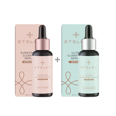 ETSLEY Skin Care Serum Combo - Ultra Glow And Clarifying 60ml