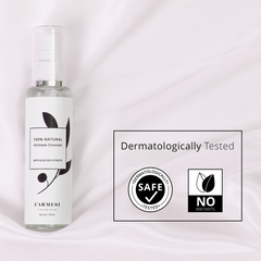 Carmesi 100% Natural Anti-Bacterial Intimate Cleanser for Women with Olive Leaf Extracts 100 ml