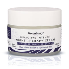 Greenberry Organics Bio Active Intense Night Therapy Cream 50g