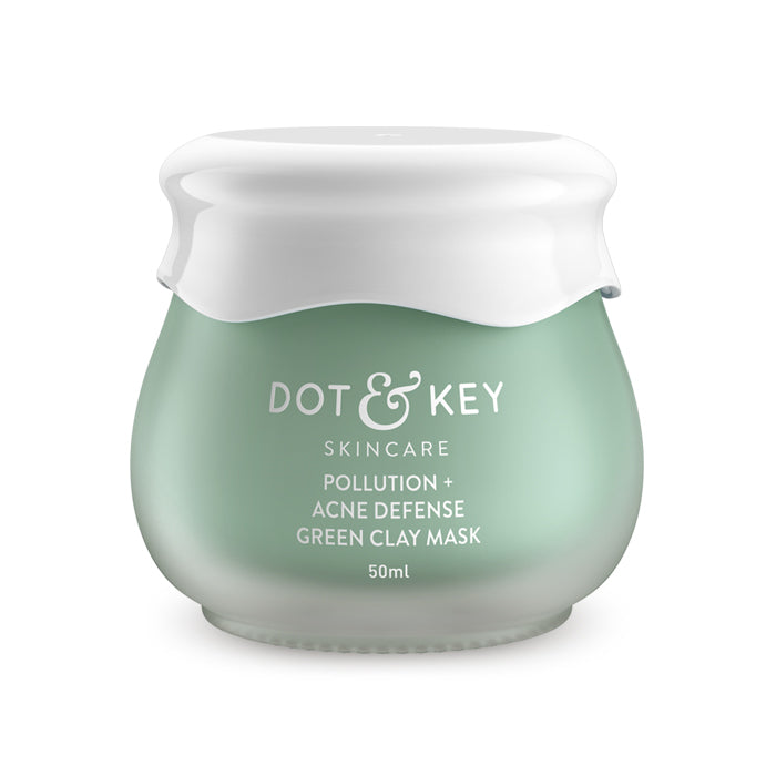 Dot & Key Pollution + Acne Defense Green Clay Mask 50ml