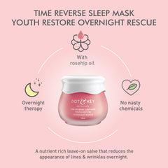 Dot & Key Time Reverse Sleep Mask -  Youth Restore Overnight Rescue 60ml