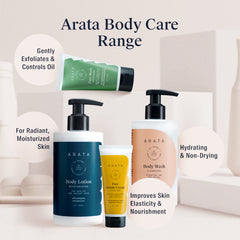 Arata Natural Hydrating Face Serum-Cream | All-Natural, Vegan & Cruelty-Free | Enhanced Nourishment For Improved Skin Elasticity 50ml