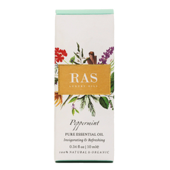 Ras Luxury Oils Peppermint Pure Essential Oil 10ml