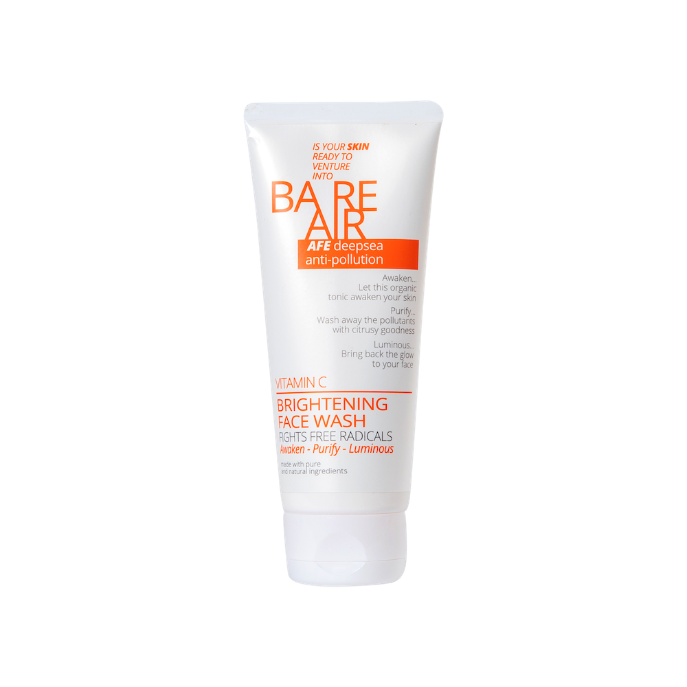 BareAir Brightening Facewash With Vitamin C 100 ML