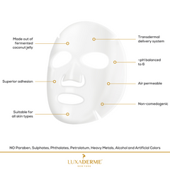 LuxaDerme Firming - Bio Cellulose Face Sheet Mask