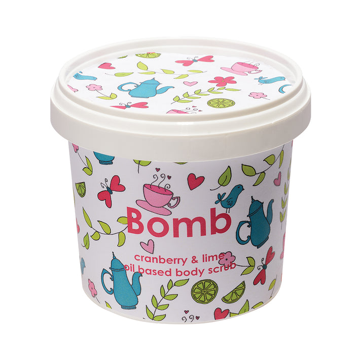 Bomb Cosmetics Cranberry & Lime Body Scrub 400 gms