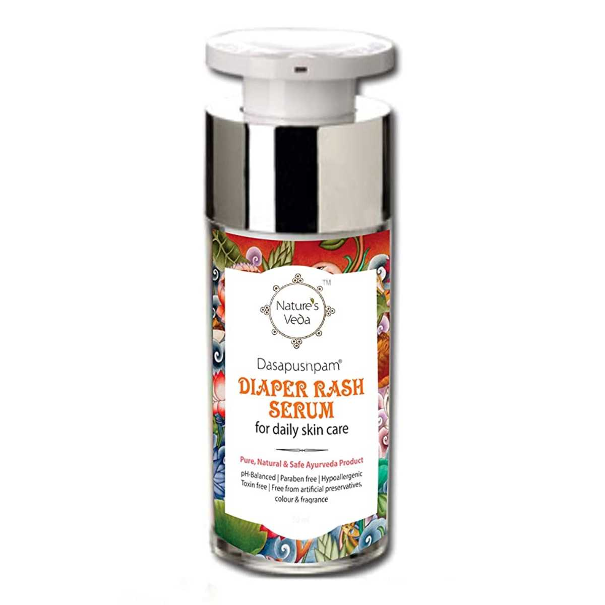 Nature's Veda Dasapuspam Diaper Rash Serum