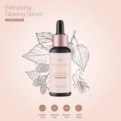 ETSLEY Everyoung Glowing Skin Serum - Ultra Skin Glow & Fairness 30ml
