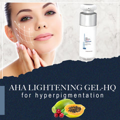 FCL Aha Lightening Gel for Hyperpigmentation Healthy Cell Renewal, While Exfoliating Away Dry, Dead, Complexion-Dulling Cells 30ml