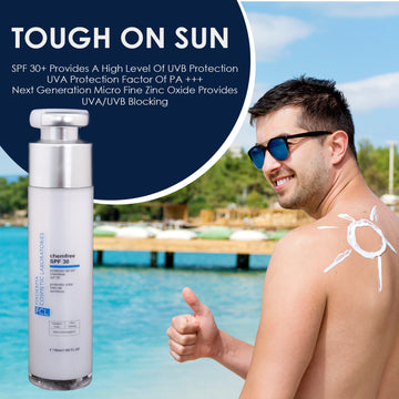 FCL Chemfree SPF 30 Sunscreen With Micronized Titanium Dioxide & Micronized Zinc Oxide 50ml