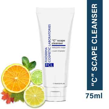 FCL C Scape Cleanser for Gentle Exfoliation and a Brightening Face Wash For Unevenly Pigmented Skin 75ml