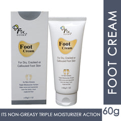 Fixderma Foot Cream For Dry, Cracker or Calloused Foot Skin 60ml